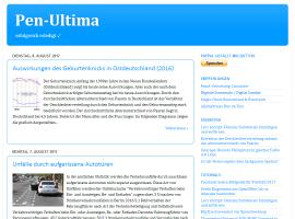 Pen-Ultima Blog