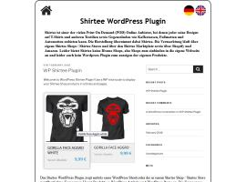 Shirtee WordPress Plugin